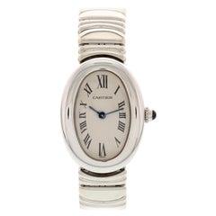 Cartier Baignoire 18 Karat White Gold 1950.1