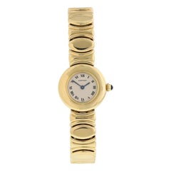 Cartier Baignoire 18 Karat Yellow Gold Ladies Watch