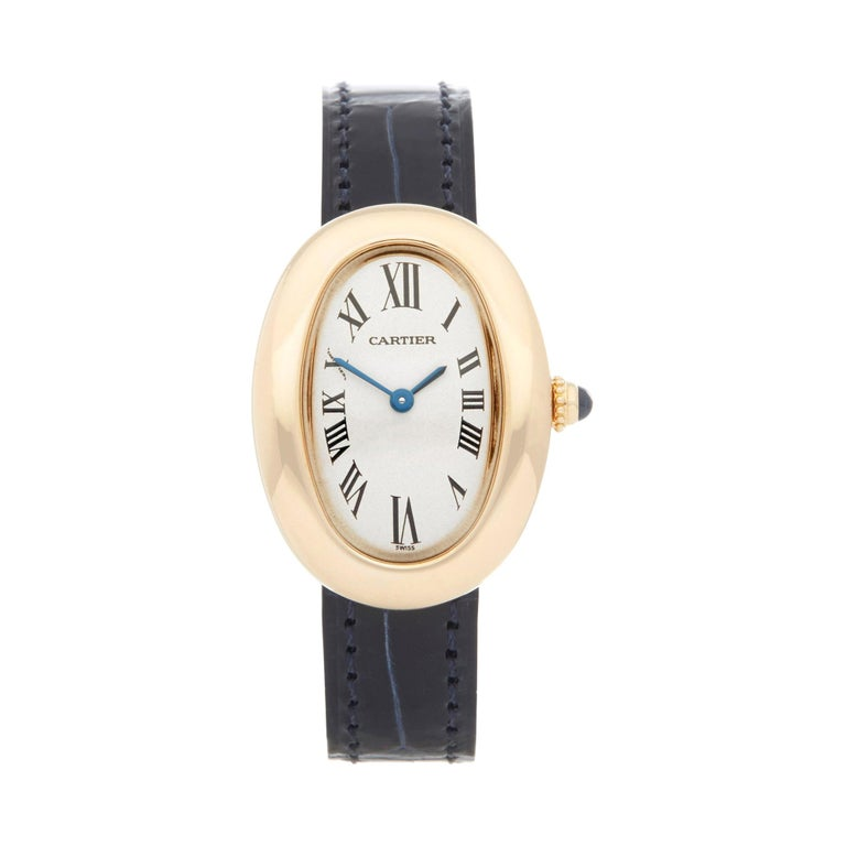 Cartier Baignoire 18 Karat Yellow Gold W1506051 or 1952 For Sale