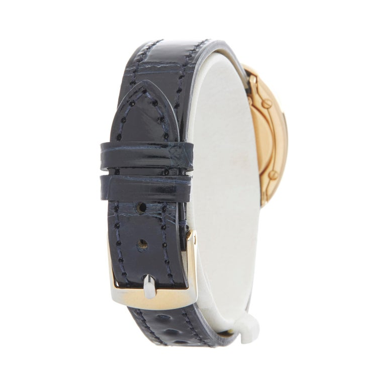 Cartier Baignoire 18 Karat Yellow Gold W1506051 or 1952 For Sale 1