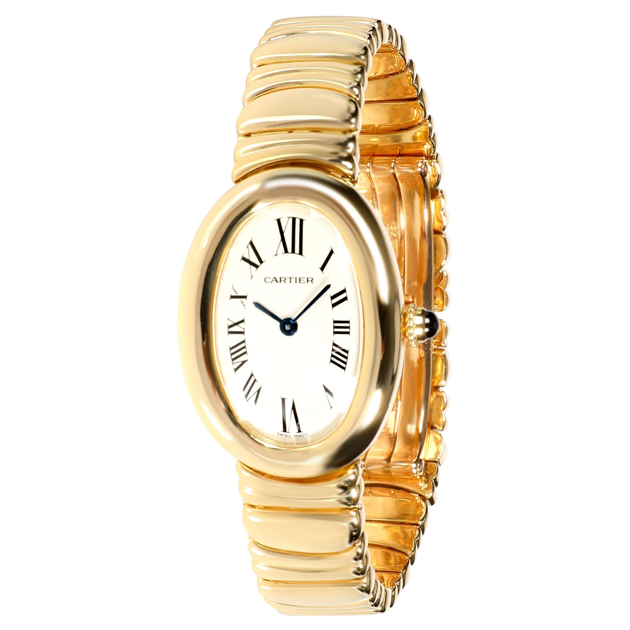 Cartier Baignoire 1954 Women's Watch in 18 Karat Yellow Gold