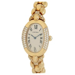 Cartier Baignoire 8057912, White Dial, Certified and Warranty