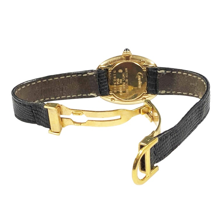 Cartier Baignoire Gold Wrist Watch Owned and Worn by Jerry Lewis For Sale 2