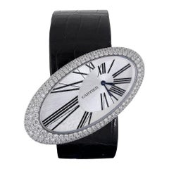 Cartier Baignoire Hypnose Diamond Pearl Watch