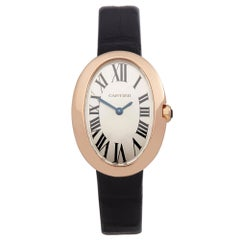 Cartier Baignoire Rose Gold 3064 Wristwatch