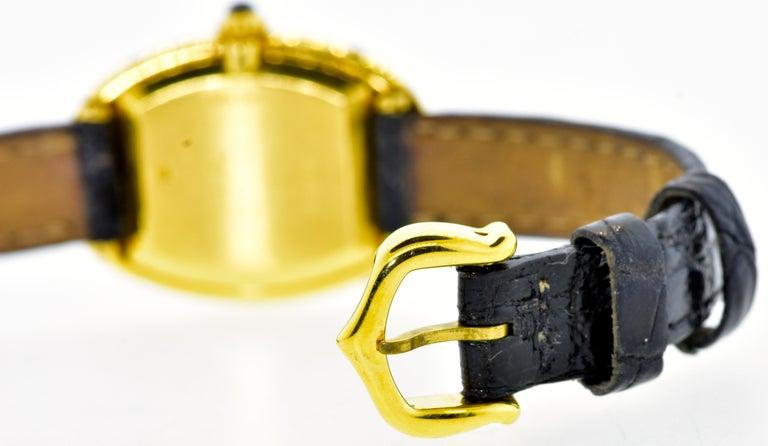Cartier Baignoire Vintage Wristwatch, circa 1980 In Excellent Condition For Sale In Aspen, CO