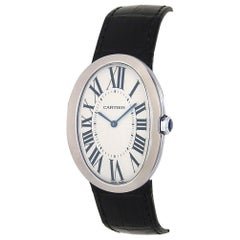 Cartier Baignoire W8000001, Silver Dial, Certified and Warranty