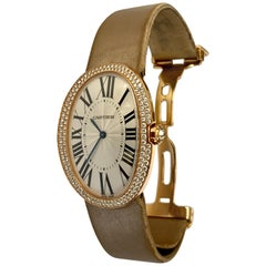"Cartier ""Baignoire"" Watch, Large Model in Pink Gold"