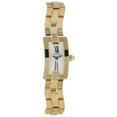 Cartier Ballerine 2992 Yellow Gold Ladies Watch