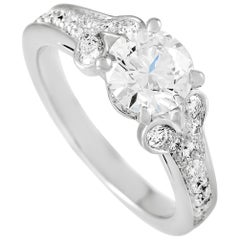 Cartier Ballerine Platinum 1.84 Carat Diamond Engagement Ring