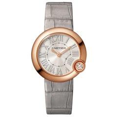 Cartier Ballon Blanc Quartz Movement Rose Gold and Diamond Watch WGBL0005