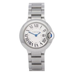 Cartier Ballon Bleu 0 3009 or W69010Z4 Ladies Stainless Steel 0 Watch