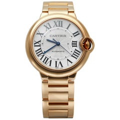 Cartier Ballon Bleu 18 Karat Rose Gold W69004Z2