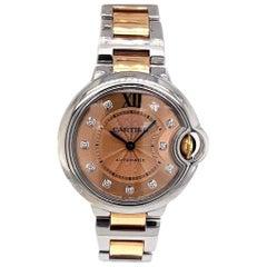 Cartier Ballon Bleu 18 Karat Rose Gold Watch