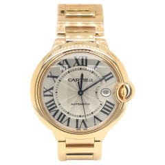 Cartier Ballon Bleu 18 Karat Yellow Gold Watch