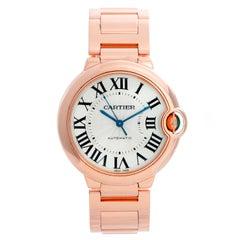 Cartier Ballon Bleu 18 Karat Rose Gold Ladies Midsize Watch