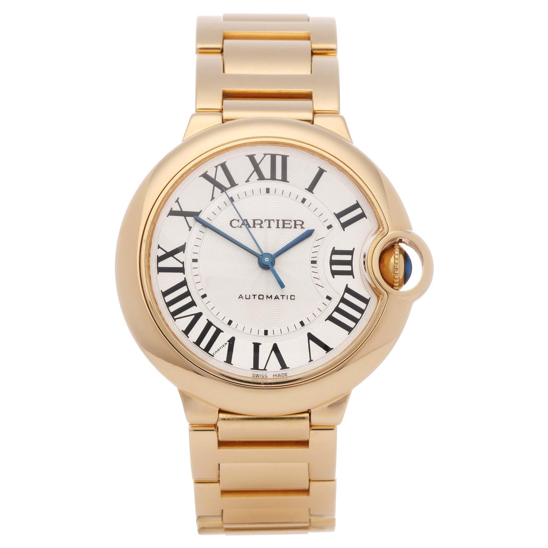 Cartier Ballon Bleu 3002 Unisex Yellow Gold Watch