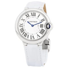 Cartier Ballon Bleu 3005, Case, Certified and Warranty