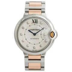 Cartier Ballon Bleu 3284 W3BB0018 Womens Automatic Watch Two-Tone SS