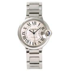 Cartier Ballon Bleu 3284 W6920046 Women's Automatic Watch Stainless