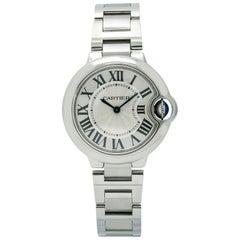 Cartier Ballon Bleu 3653, Silver Dial, Certified and Warranty