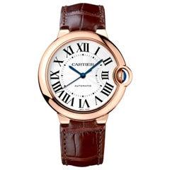 Cartier Ballon Bleu Automatic Pink Gold Watch WGBB0009