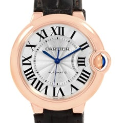 Cartier Ballon Bleu Automatic Rose Gold Ladies Watch WGBB0009