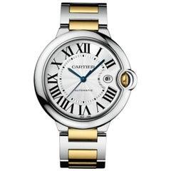 Cartier Ballon Bleu Automatic Yellow Gold and Steel Men's Watch W2BB0022