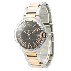 Cartier Ballon Bleu Box and Paper 3001 W6920032 Men's Automatic Watch
