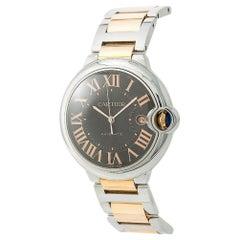 Cartier Ballon Bleu Box & Paper 3001 W6920032 Men's Automatic Watch