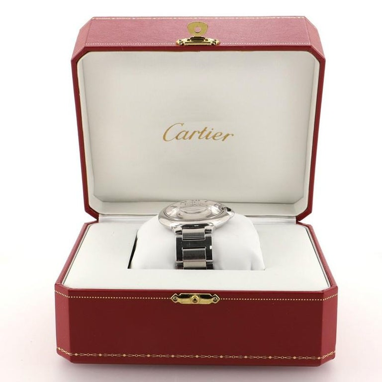 Estimated Retail Price: $6,550 Condition: Very good. Moderate scratches and wear throughout. Wear and scratches on case and strap. Accessories: Box, Authenticity Card Measurements: Case Size/Width: 42mm, Watch Height: 8mm, Band Width: 20mm, Wrist