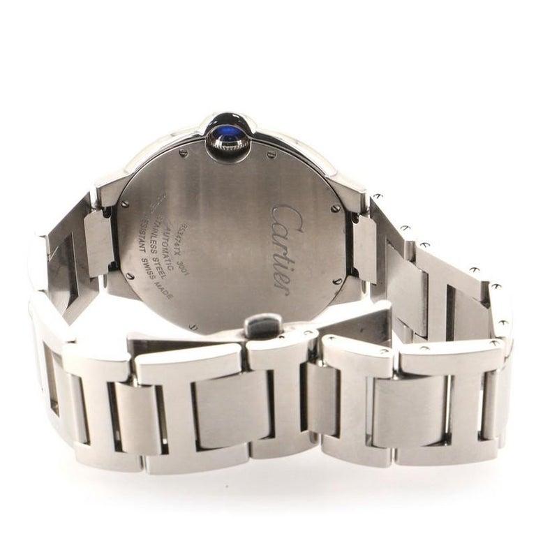 Cartier Ballon Bleu de Cartier Automatic Watch Stainless Steel 42 For Sale 1