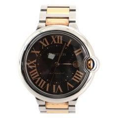 Cartier Ballon Bleu de Cartier Automatic Watch Stainless Steel and Rose Gold 42