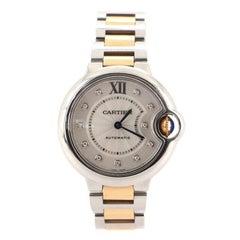 Cartier Ballon Bleu de Cartier Automatic Watch Stainless Steel and Rose Gold wit