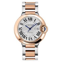 Cartier Ballon Bleu De Guilloche Dial Automatic Watch