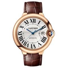 Cartier Ballon Bleu Mechanical Movement Pink Gold Men's Watch WGBB0030