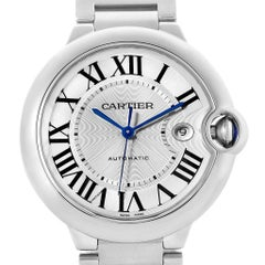 Cartier Ballon Bleu Men's Stainless Steel Automatic Watch W69012Z4