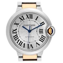 Cartier Ballon Bleu Midzize 36 Steel Yellow Gold Unisex Watch W2BB0012