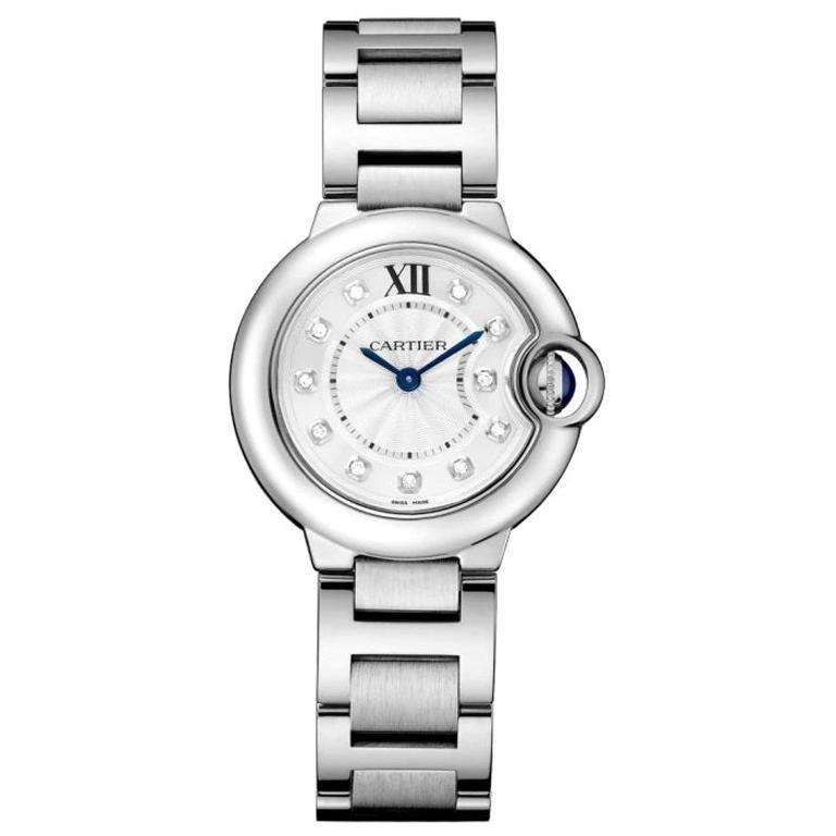 Cartier Ballon Bleu Quartz Movement Ladies Diamond Watch WE902073