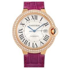 Cartier Ballon Bleu Rose Gold Watch WE900851