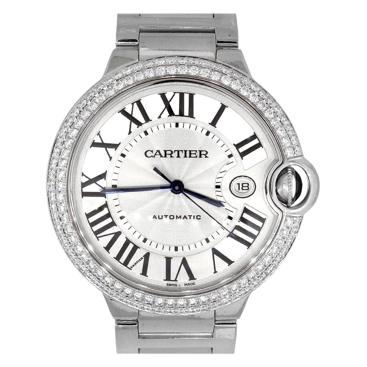 Cartier Ballon Bleu Silver Dial Watch