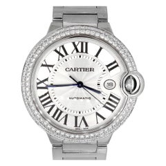 Cartier Ballon Bleu Silver Dial Watch
