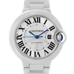 Cartier Ballon Bleu Stainless Steel Automatic Womens Watch W6920071
