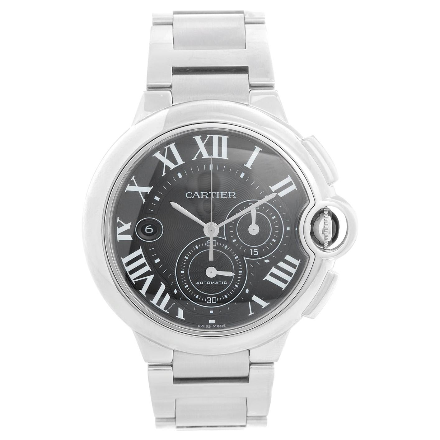 Cartier Ballon Bleu Stainless Steel Chronograph Automatic W6920076