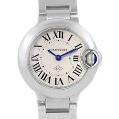 Cartier Ballon Bleu Stainless Steel Small Ladies Watch W69010Z4