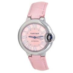 Cartier Ballon Bleu Stainless Steel Women's Watch Automatic WSBB0002