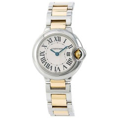 Cartier Ballon Bleu W2BB0010, White Dial, Certified and Warranty