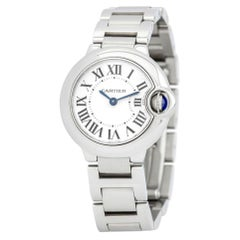 Cartier Ballon Bleu W69010Z4, Silver Dial, Certified and Warranty