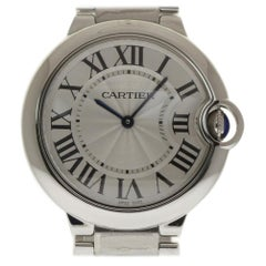 Cartier Ballon Bleu W69011Z4; White Dial, Certified and Warranty