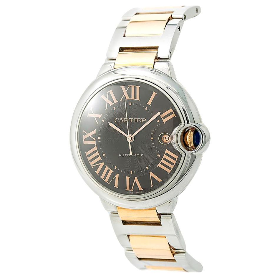 Cartier Ballon Bleu W6920032, Brown Dial, Certified and Warranty